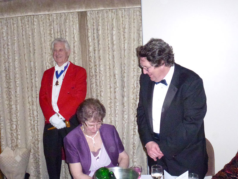 Dickie Richards, London Guild of Toastmasters - Masonic Ladies Festival