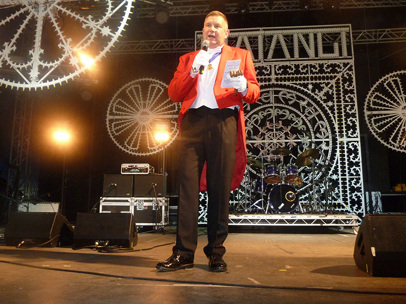 Peter Tautz Toastmaster at Bestival Isle of Wight