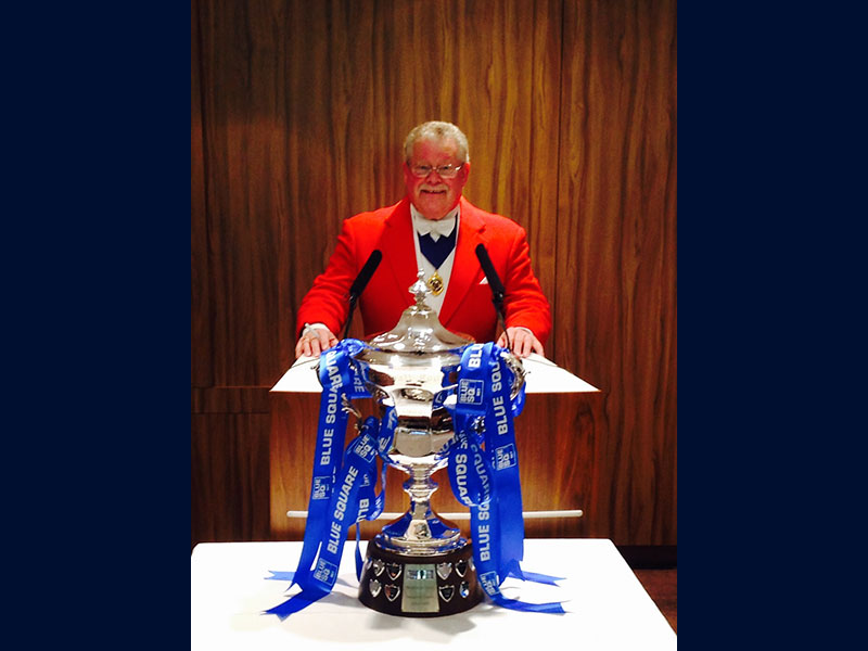 Tony Rance Toastmaster at sporting event