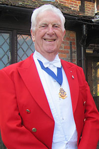 Dickie Richards of London Guild of Toastmasters